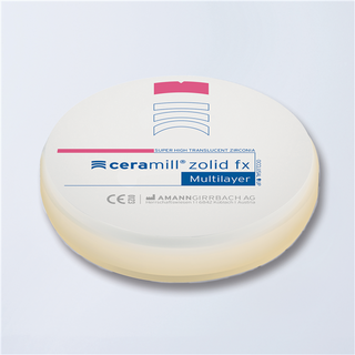 Ceramill Zolid FX Multilayer A2/A3 16 mm 98 Ronde